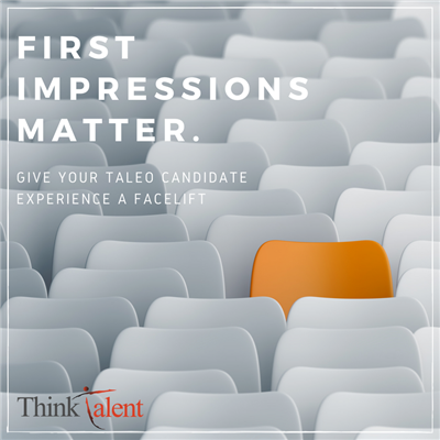 Candidate Experience – First Impressions Matter